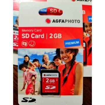 KARTA PAMIĘCI SD AGFA PHOTO 2 GB