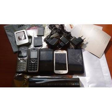 Sony,Samsung,myPhone,Panasonic-5 uszk.telef.+inne