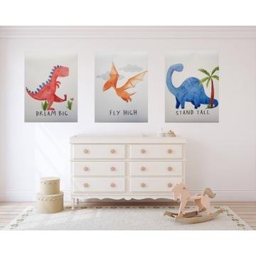 Plakat do pokoju dziecięcego boho skandynawski