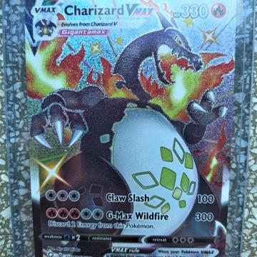 Pokemon CHARIZARD VMAX  SV107/V122 bardzo rzadka!