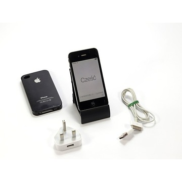 Apple iPhone 4s 16 GB A1387 kabel ładowarka case