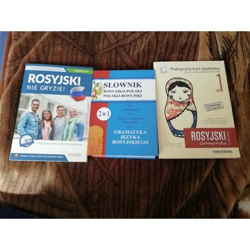 Komplet książek do nauki rosyjskiego