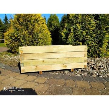 Donica drewniana skrzynia z drewna 80x40 KURIER!!!