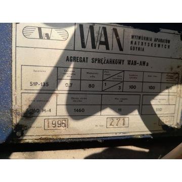 sprężarka powietrza kompresor WAN AW trzy tłokowa