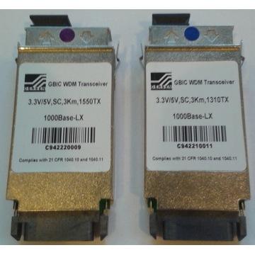 Moduły optyczne GBIC CISCO 1Gbit