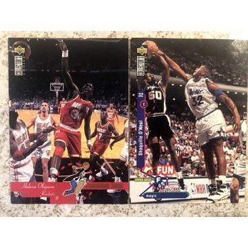 KARTA NBA SHAQ , OLAJUWON 1995 ROK !