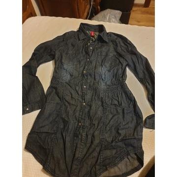 Tunika dżinsowa vero moda
