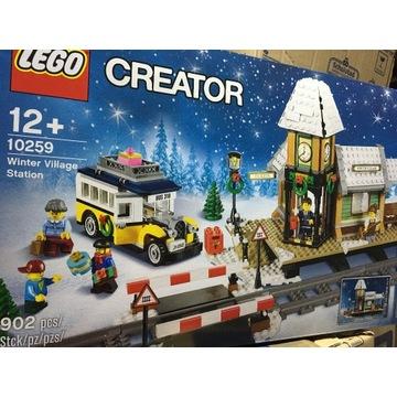 Lego 10259 Stacja w zimowej wiosce