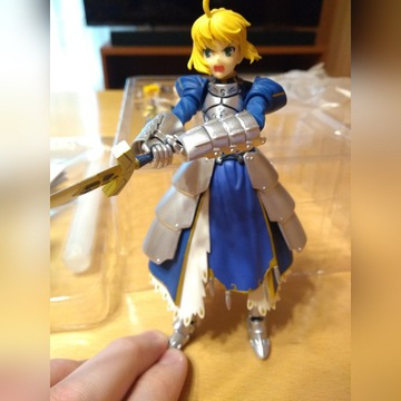 Figma Fate/stay night Saber Arturia figurka anime
