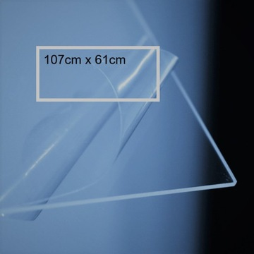 Osłona szkło organiczne, poliwęglan bezbarwny