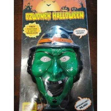 Dzwonek do drzwi dla dziecka Halloween Czarownica