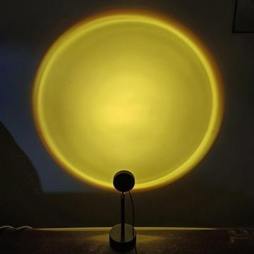 Lampa Projektor IMITACJA Wschodu SŁOŃCA TŁO zdjęć