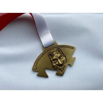 Medal biegu TROPEM WILCZYM 2021
