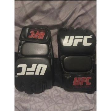Rękawice UFC mma grappling chwytne