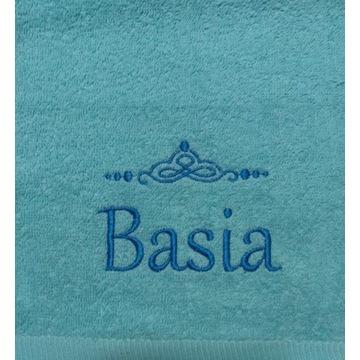 Ręcznik 30x50 z haftem imienia Basia