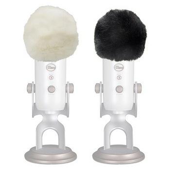 Blue Yeti osłona przeciwwietrzna mikrofon futrzak