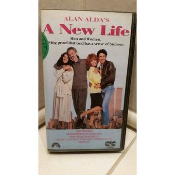 NOWE ŻYCIE -A NEW LIFE ALAN ALDA S- VHS