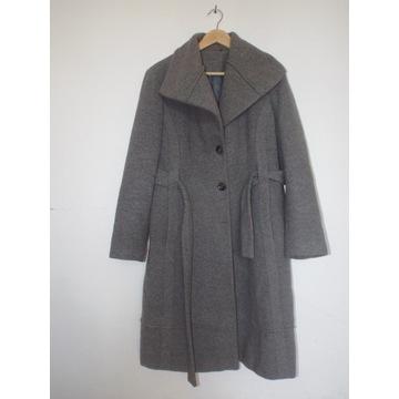 Płaszcz trencz od Calvin Klein r. 10 Wełna 60%