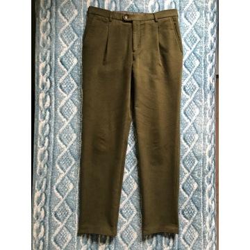 Męskie spodnie Benevento 'Barnaba' moleskin r. 50