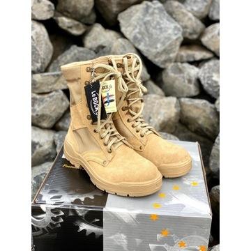 Buty wojskowe, pustynne rozm. 42 i większe LeBOCK
