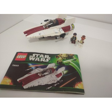 Lego Star Wars 75003 A-wing Starfighter Han Solo