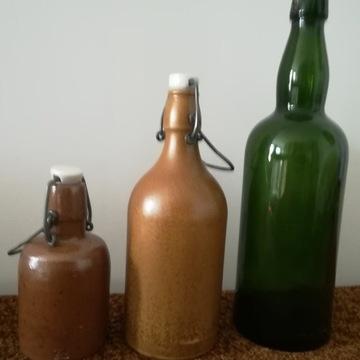 Stare kolekcjonerskie butelki