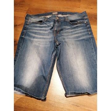 Spodenki Bermudy męskie duże jeans