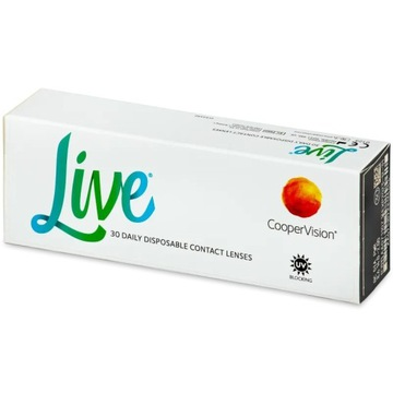 Soczewki kontaktowe Live daily disposable