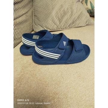 Sandaly adidas 33 niebieskie