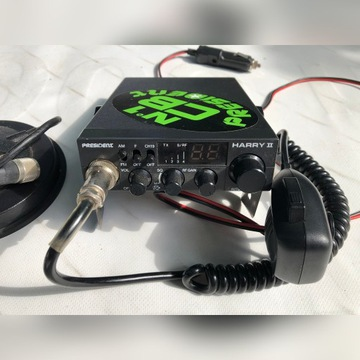 CB RADIO HARRY II + ANTENA SIRIO+ UCHWYT