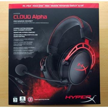 HyperX Cloud Alpha HX-HSCA-RD/EM