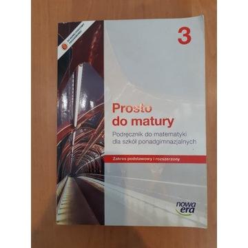 Prosto do matury 3 Podręcznik