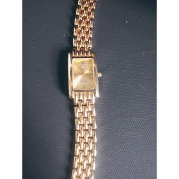 Zegarek damski, pozlacany,bransoleta Cyprea