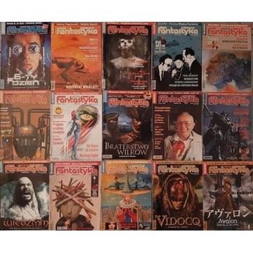Miesięcznik Nowa Fantastyka 2001-2002 (15 numerów)