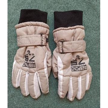 rękawiczki dziecięce zimowe ciepłe śnieg 6+