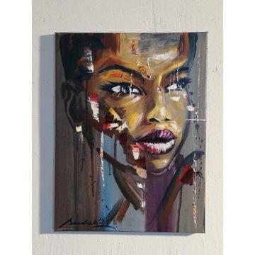 Obraz olejny sudak-art 40x30cm
