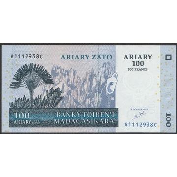 Madagaskar 100 ariary 2004 - A111 - stan UNC
