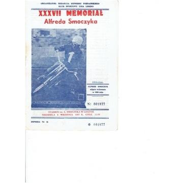 Memoriał A.Smoczyka 1987 r