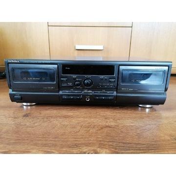 Magnetofon Deck dwukasetowy Technics RS - TR474