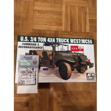AFV Club 35S16 US 3/4 Ton 4x4 Truck + blachy Edzia