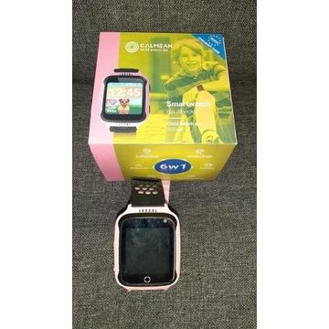 Calmean smartwatch GPS, karta sim, stan bdb