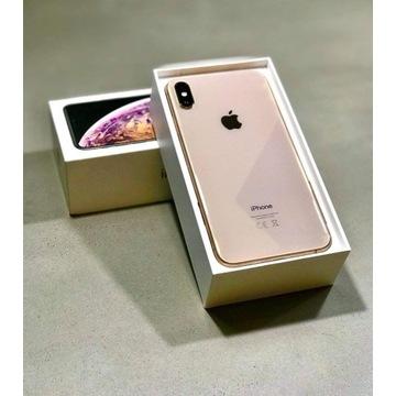 Iphone XS Max, Złoty, 256 GB - stan idealny