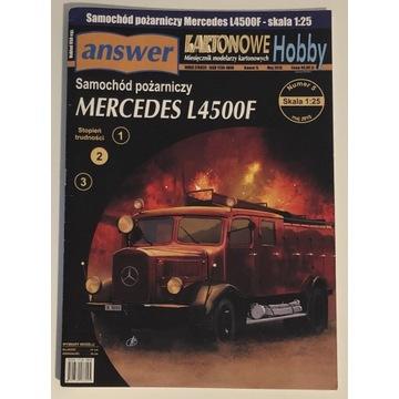 MERCEDES L4500F - samochód pożarniczy answer