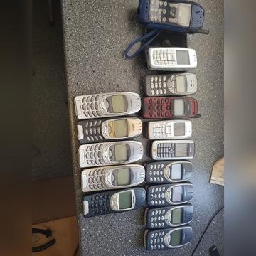Zestaw kultowych telefonów