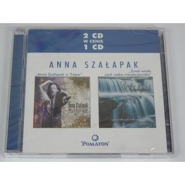 2cd Anna Szałapak - W Trójce / Żywa woda 2005 2cd