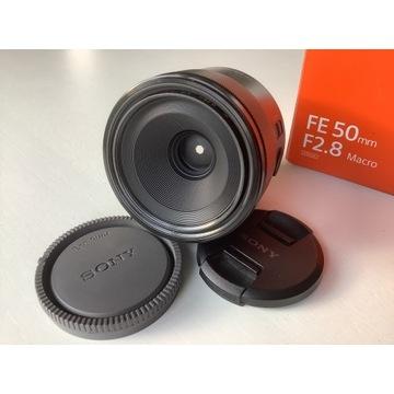 Sony FE 50 mm F2.8 macro (SEL50M28) - stan idealny
