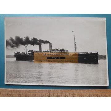 GDYNIA - STATEK SS POLONIA - DURCZYKIEWICZ - 1932