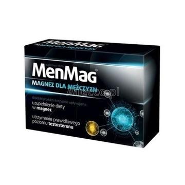 MenMag MAGNEZ DLA MĘŻCZYZN = Potencja, Testosteron