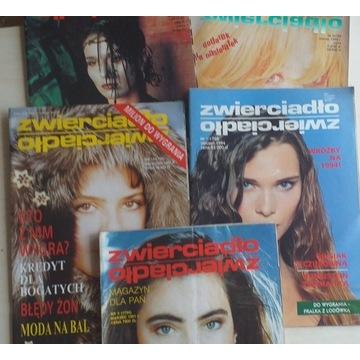 Miesięcznik Zwierciadło 5egz, 1991-1995