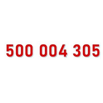 500 004 305 ORANGE ŁATWY ZŁOTY NUMER starter